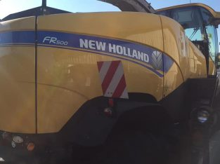 Silokombajn New Holland FR 500